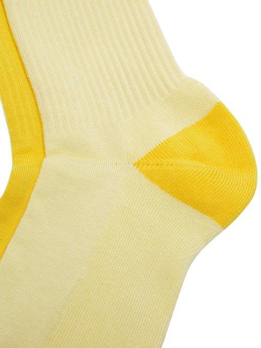 JACQUEMUS Les Chaussettes logo socks