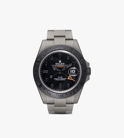 MAD PARIS Black Mad Rolex Explorer II Watch