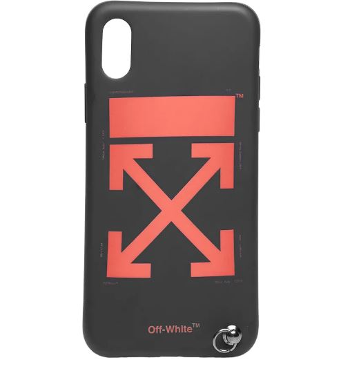 OFF-WHITE Black Arrows Strap iPhone X Case