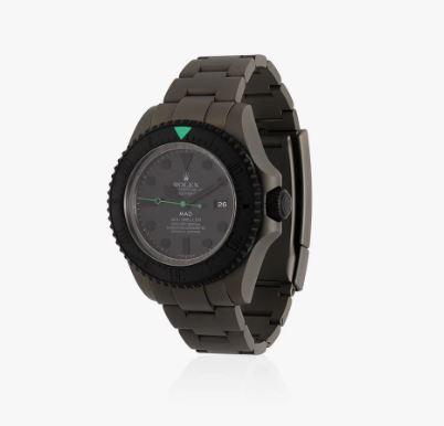 MAD PARIS Rolex Deepsea Grey Aqua Watch