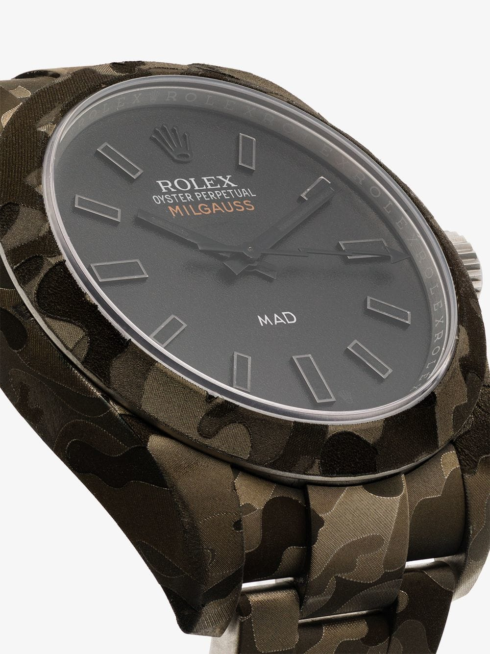 MAD PARIS Rolex Milgauss Camouflage Watch