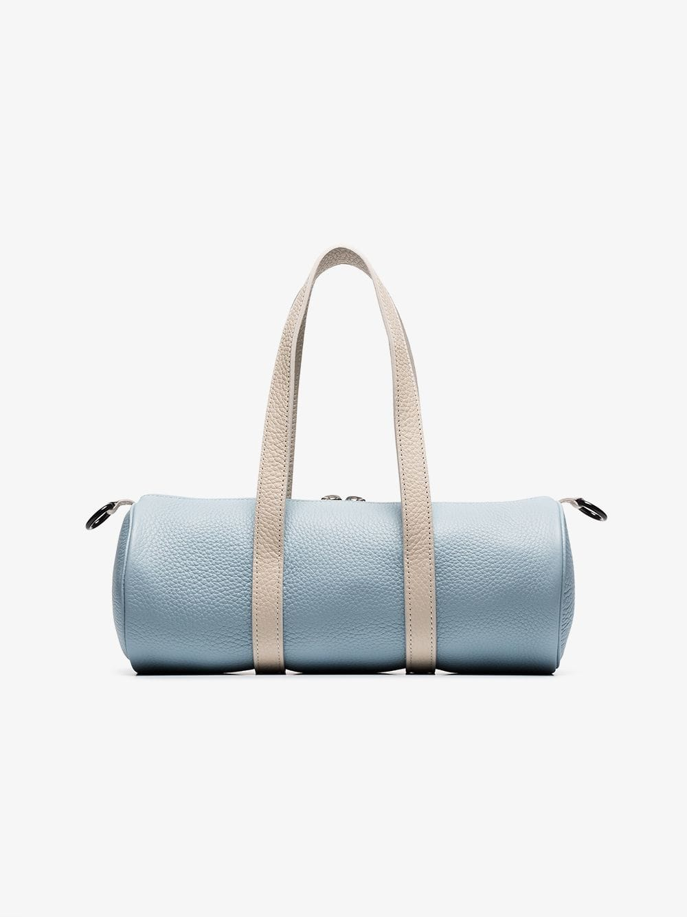 SIMON MILLER Blue And White Mini Toolkit Leather Holdall