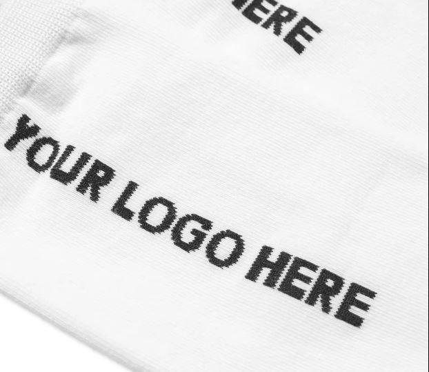 IDEA Your Logo Here Sock