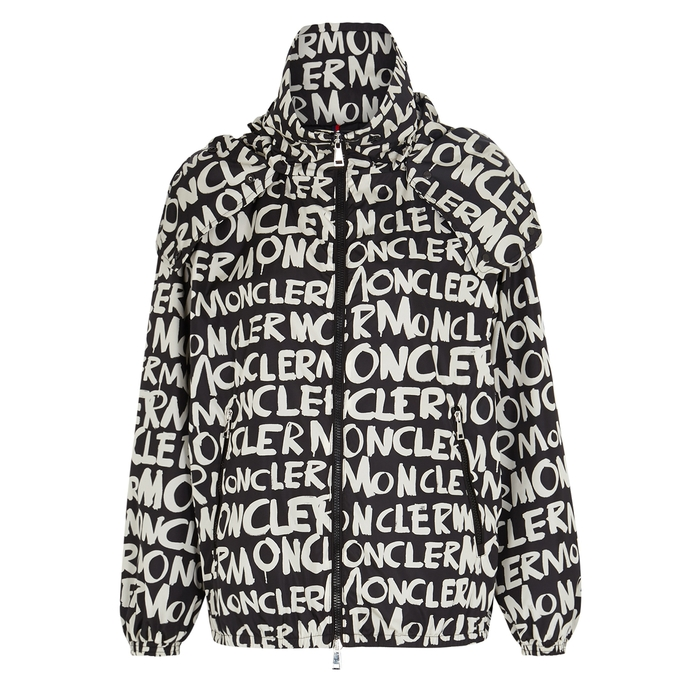 MONCLER Hanoi Logo Print Hooded Jacket