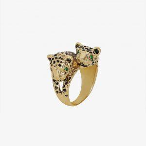 ANINE BING Panther Ring