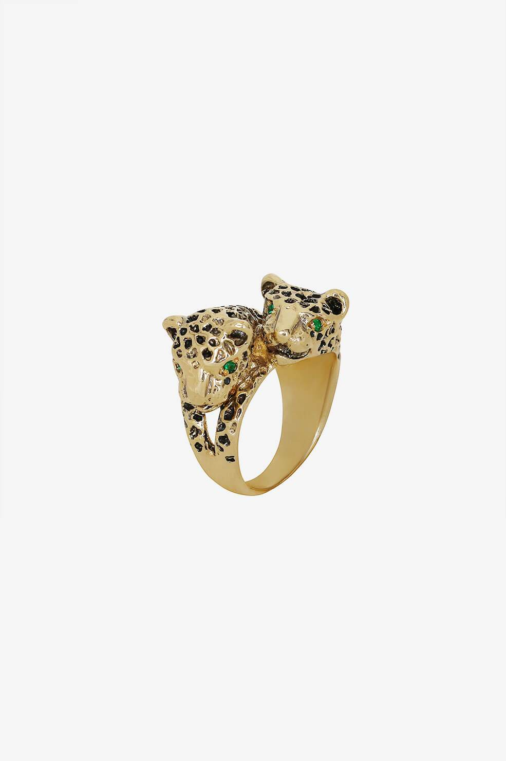 ANINE BING Panther Ring