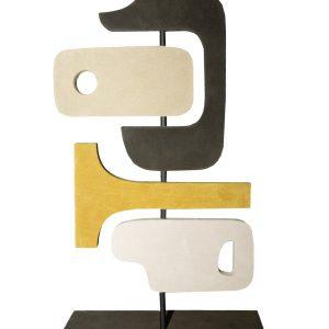STEPHANE PARMENTIER Tabou Sculpture 4 Yellow