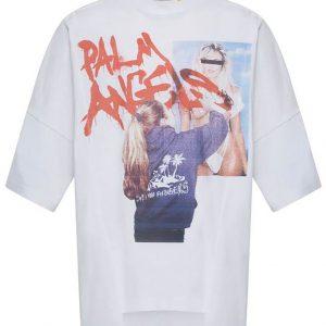 MONCLER GENIUS 8 Moncler Palm Angels Graphic T-Shirt