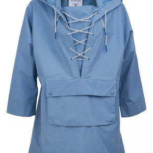 BARBOUR x ALEXACHUNG Pip Waterproof Hooded Rain Jacket