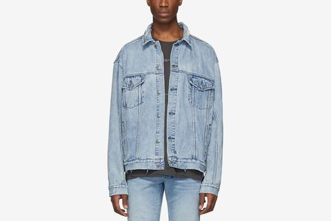 Denim Oversized Oh G Acid Trip Trash Jacket