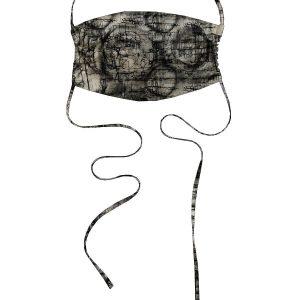 KES Sustainable Washable Face Mask – Black Handkerchief Print