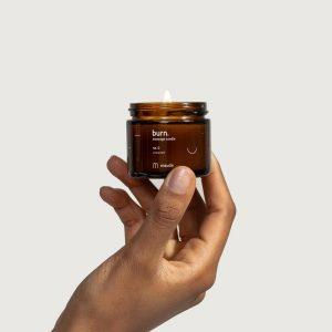 MAUDE Burn Massage Candle – Unscented- 2 oz.