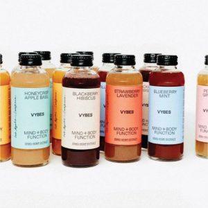 VYBES CBD Beverage – Variety Pack 12 bottles