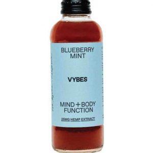 VYBES CBD Beverage – Blueberry Mint