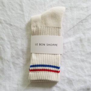 LE BON SHOPPE Boyfriend Socks – Milk
