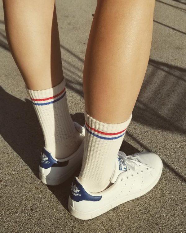 LE BON SHOPPE Boyfriend Socks - Milk