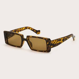 PULP Tortoise Rectangle Sunglasses