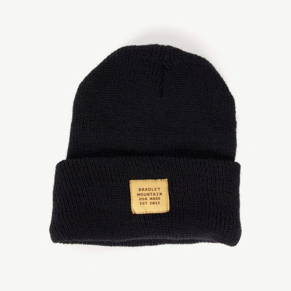 BRADLEY MOUNTAIN Service Cap - Black