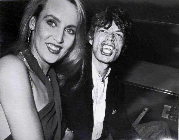 """RON GALELLA """"Limelight"""", Photo of Mick Jagger and Jerry Hall, 1984"""