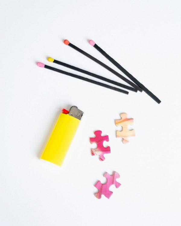 PIECEWORK PUZZLES Smoke & Petals Puzzle