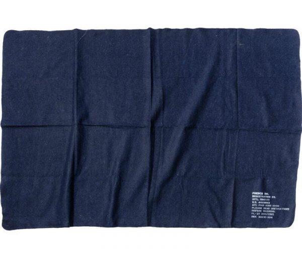 PUEBCO Felted Blanket - Navy Blue