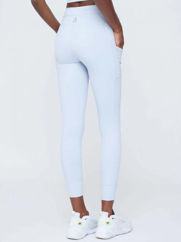 VOICE OF INSIDERS Drawcord Track Legging - Grey Dawn