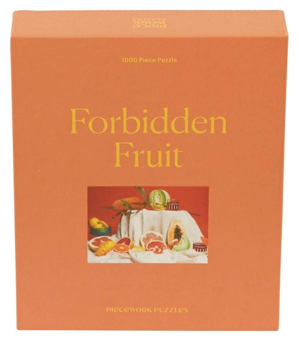 PIECEWORK PUZZLES Forbidden Fruit Puzzle