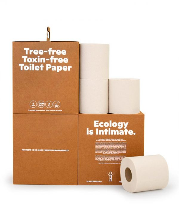 PLANTPAPER PlantPaper Toxin-FreeTP - 8 Rolls/per box