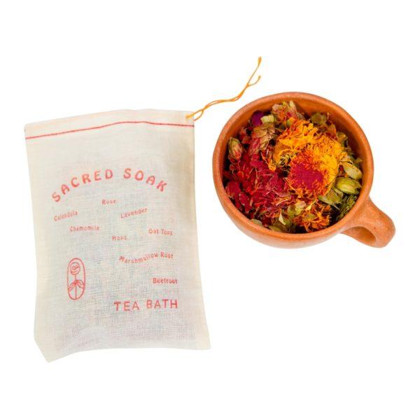 HIGH SUN LOW MOON Sacred Soak~ Tea Bath