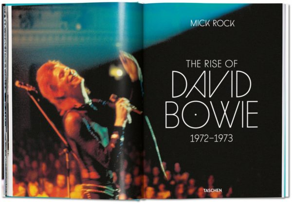 TASCHEN Mick Rock. The Rise of David Bowie. 1972–1973