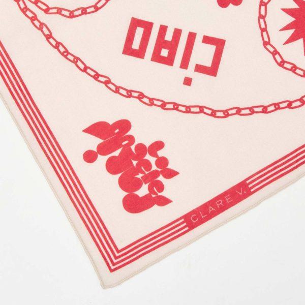 CLARE V. Icon Print Bandana