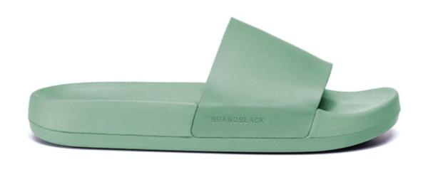 BRANDBLACK Kashiba Lux Slide in Black, Green, Marine or Mango