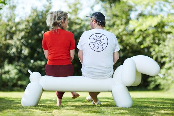 FATBOY Attackle Bench in White