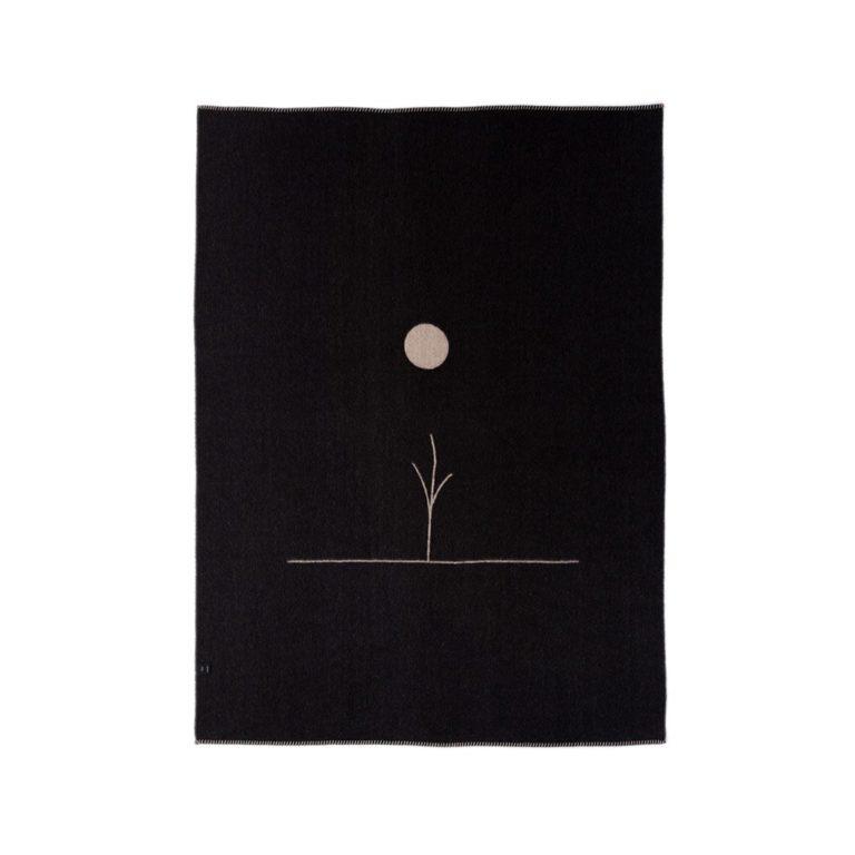 BLACKSAW Midnight Sun Reversible Throw Blanket