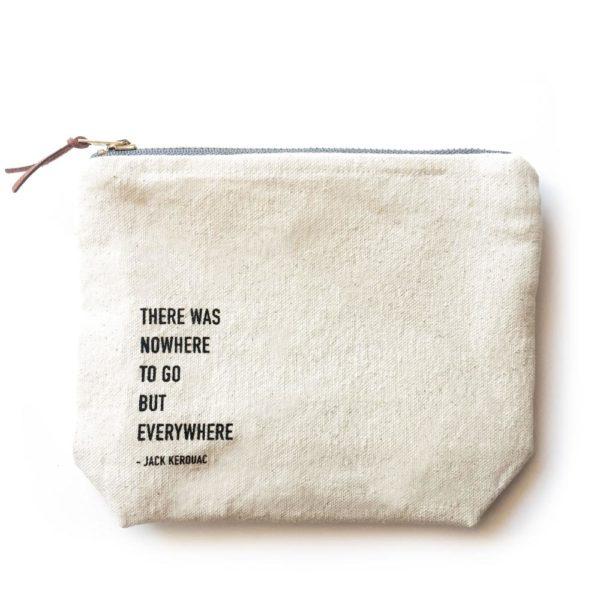 HAPPY SPRITZ Adventures Calling Canvas Bag