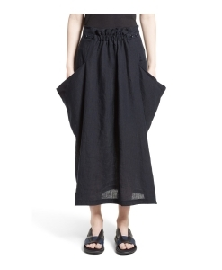Y'S BY YOHJI YAMAMOTO Side Pocket Panel Skirt