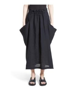 Y'S BY YOHJI YAMAMOTO Side Pocket Panel Skirt