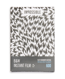 IMPOSSIBLE PROJECT Polaroid 600 Eley Kishimoto Edition Black & White Instant Film