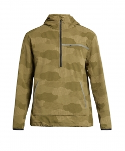 A.P.C. x OUTDOOR VOICES Water-resistant hooded performance jacket