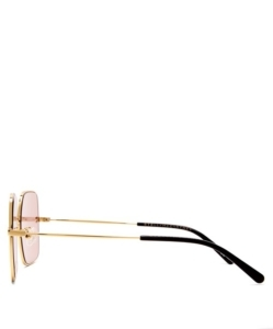 STELLA MCCARTNEY Oversized square-frame sunglasses