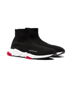 BALENCIAGA Black Speed Sock Sneakers
