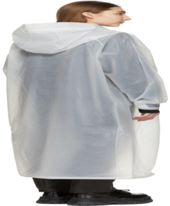 WON HUNDRED Transparent Copenhagen Unisex Raincoat