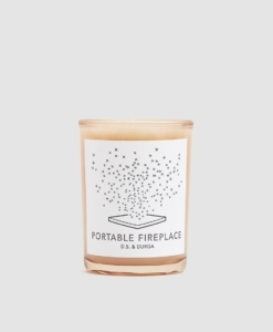 D.S. & DURGA Portable Fireplace Candle