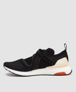 Adidas by Stella McCartney UltraBOOST T. S. Sneaker in Core Black/Core Black/Soft Apricot
