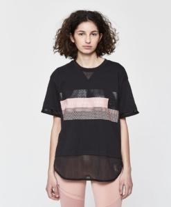 Adidas by Stella McCartney Logo Tee in Black