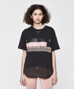 Adidas by Stella McCartney Logo Tee in Black