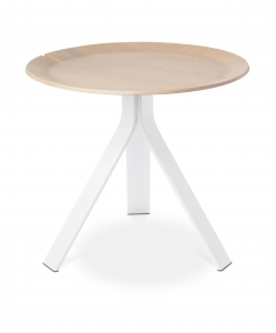 Modern by Dwell Magazine Side Table – White