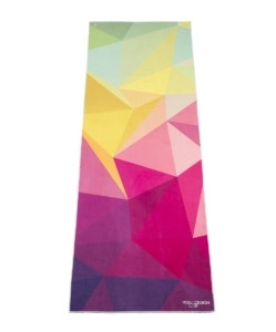 The Hot Yoga Towel. Eco-friendly, Lightweight, Insanely Absorbent, Non-slip, Microfiber Towel that Dries in Minutes! Ideal for Bikram, Hot Yoga, Pilates. Machine Washable.