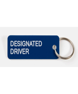 VARIOUS KEYTAGS Designated Driver Keytag