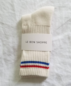 LE BON SHOPPE Boyfriend Socks – Milk